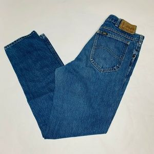 Lee Jeans Men Size 33 X 30 Button Fly Made in USA
